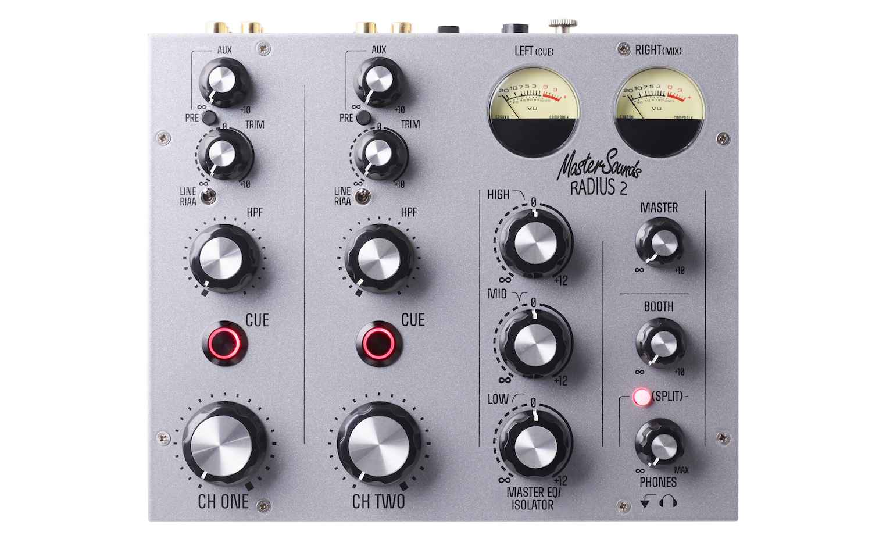 Radius 2: A New 2-Channel Rotary Analog DJ Mixer - DJ TechTools