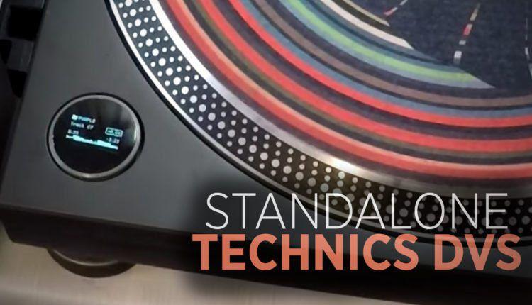 Technics DVS now has a display