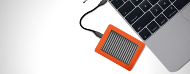 Consumer products like external hard drives are much faster to adopt new standards than music gear