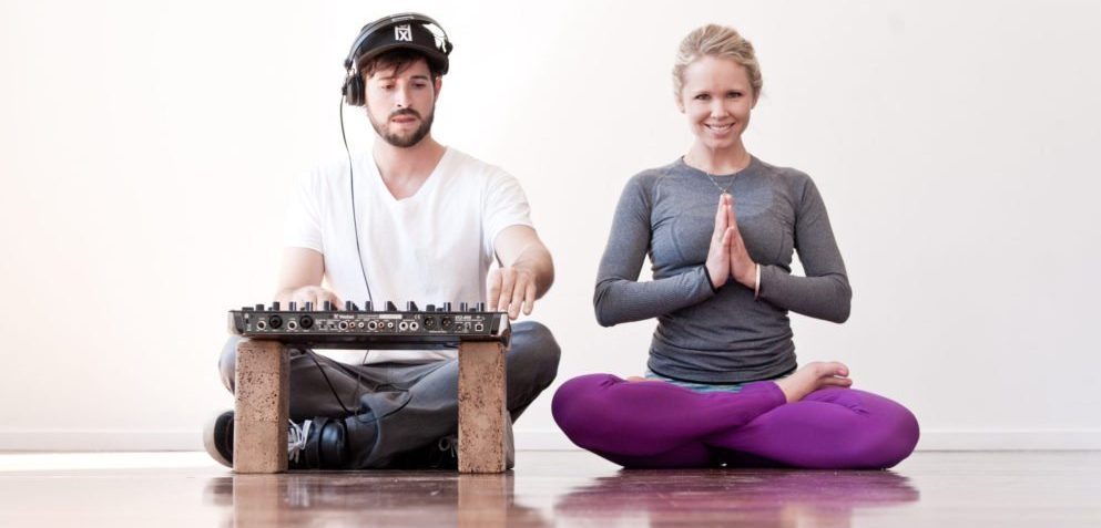 Ean Golden DJ and Yoga Teacher