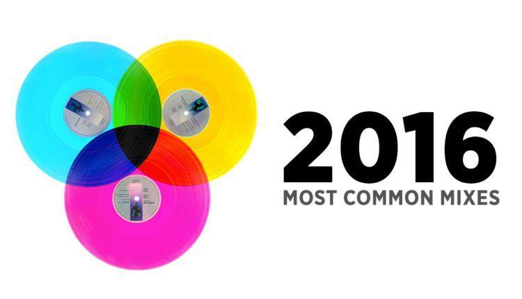 Most Common DJ mixes