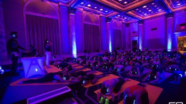 Sound Off Yoga Class with DJ