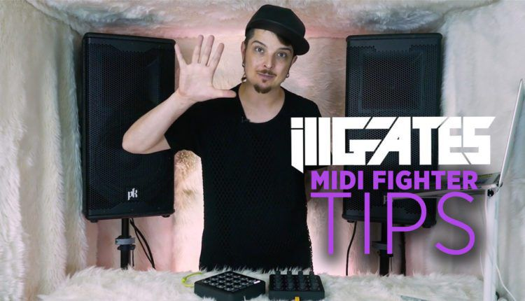 Ill Gates Midi Fighter Tips