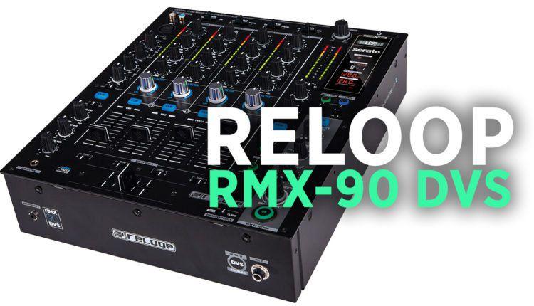 Reloop RMX-90 DVS mixer at NAMM 2017
