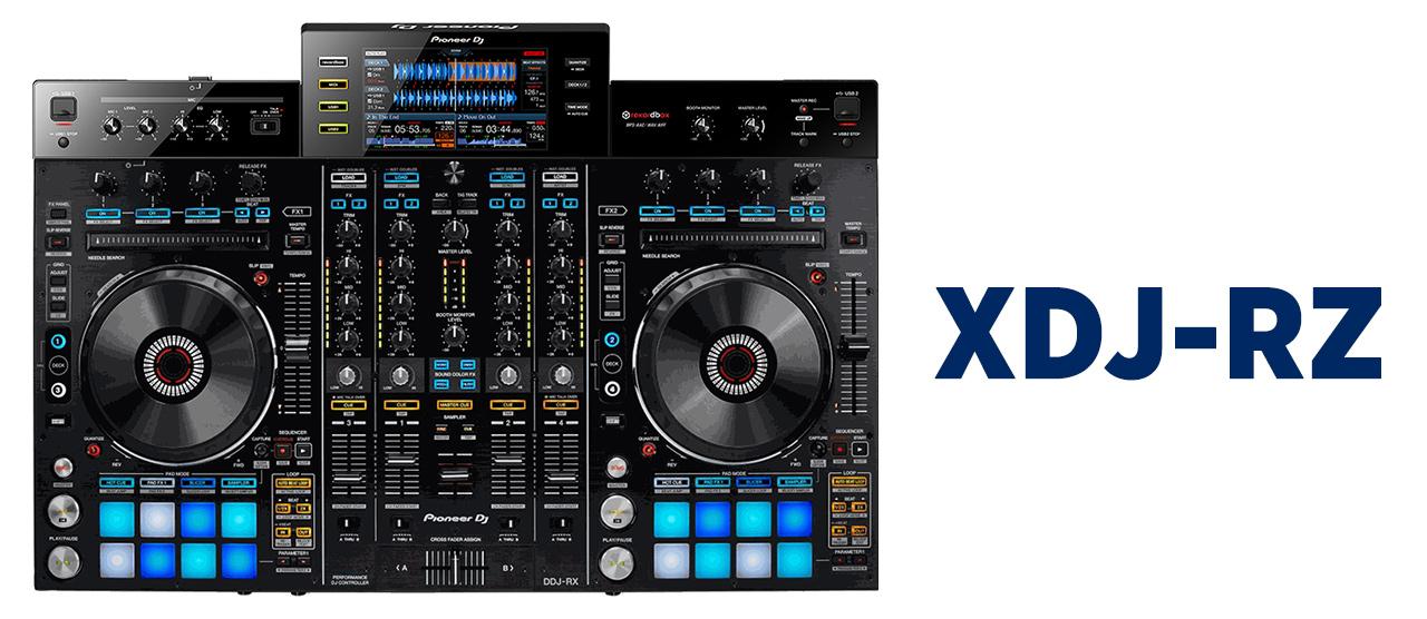 XDJ-RZ Four Channel Standalone Mockup