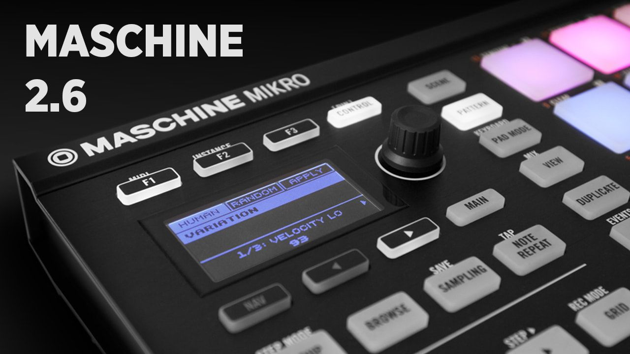 Maschine 2.6 Software Update