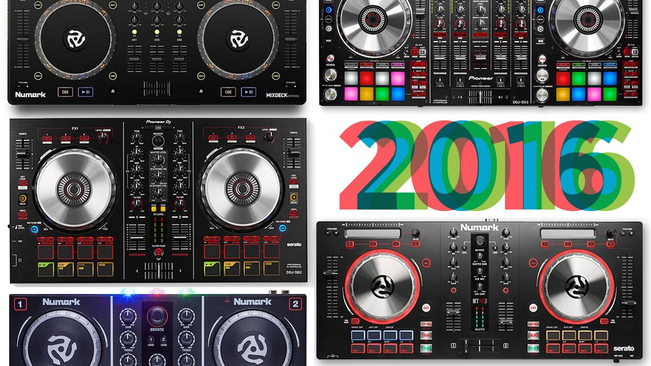 what were the 10 top selling dj controllers in 2016 dj techtools. Black Bedroom Furniture Sets. Home Design Ideas