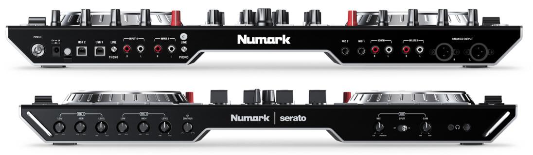 Numark Launches NS6II A $799 4-Channel Serato DJ Controller