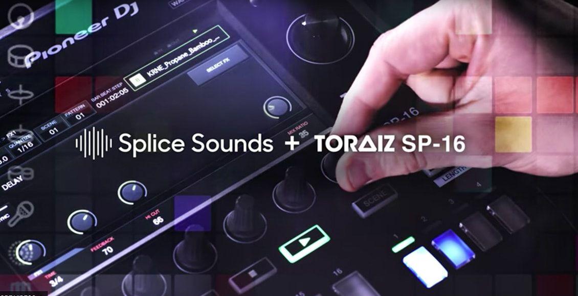 TORAIZ SP-16 and Splice Sounds