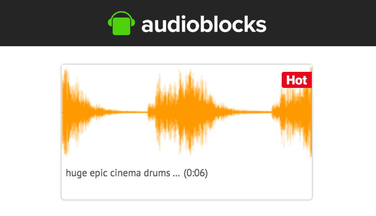 Review: AudioBlocks Subscription Loop & Sound Effect Site