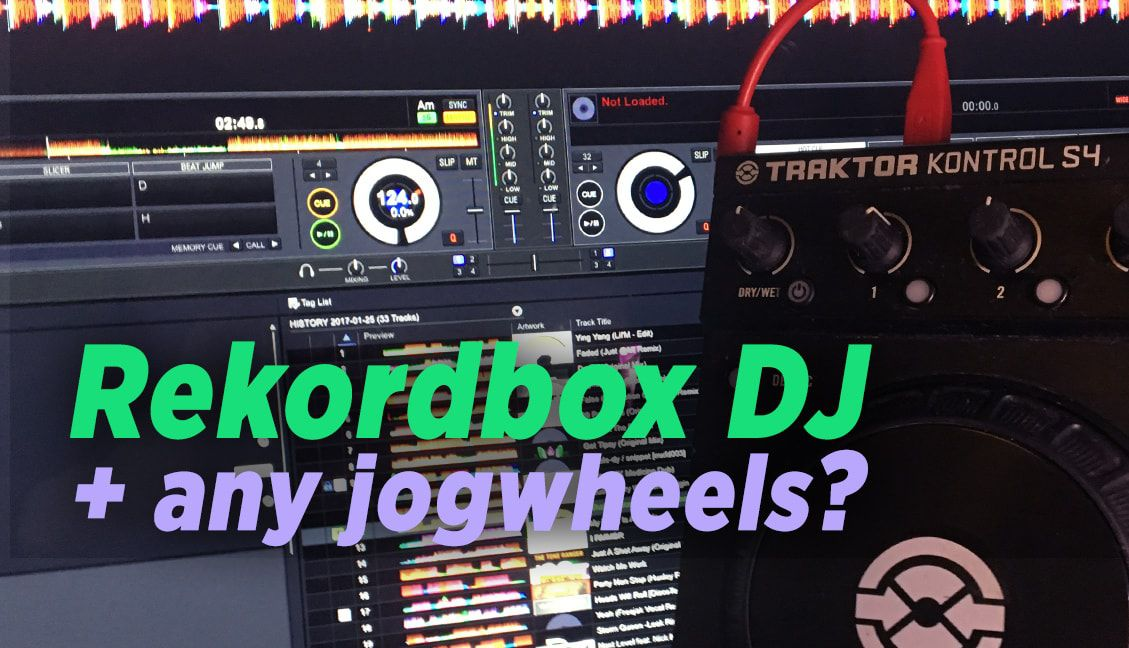 How To Hack Rekordbox DJ To Use Any Controller's Jogwheels - DJ