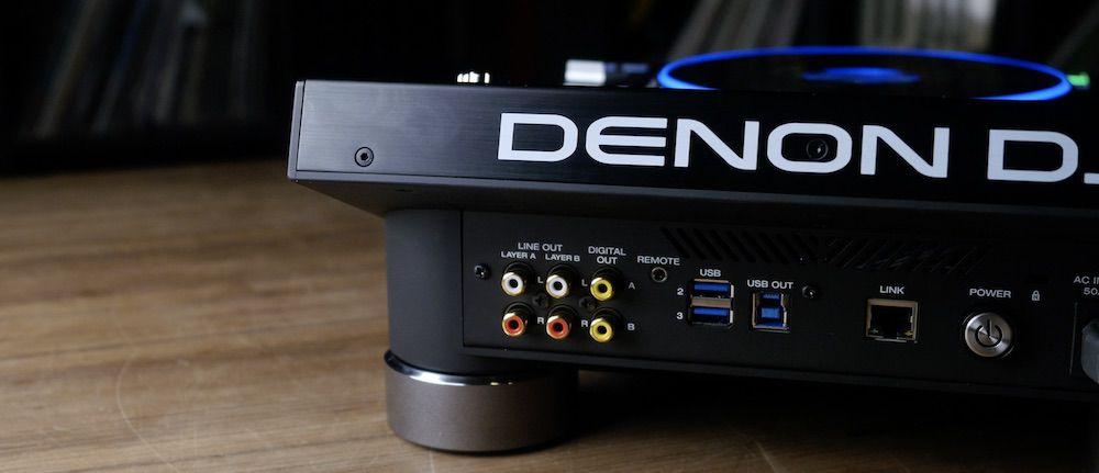 SC5000 rear audio I/O