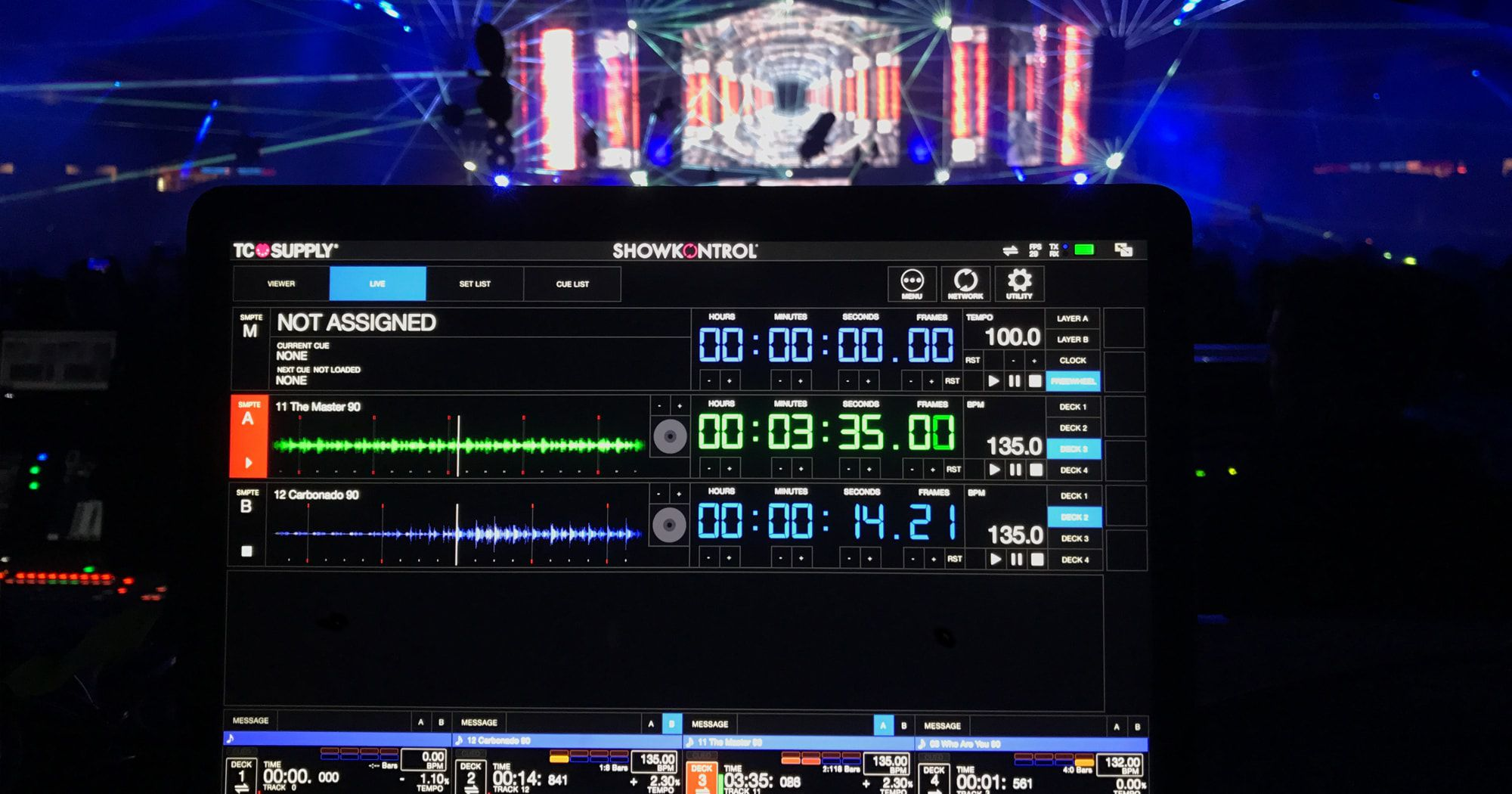 CDJs Will Send Track Data To Visuals/Lighting Techs With ShowKontrol