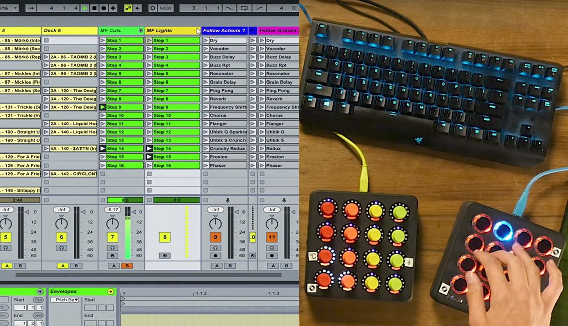 Mr  Bill: Beat Mashing + Scratching With Ableton, Midi Fighters