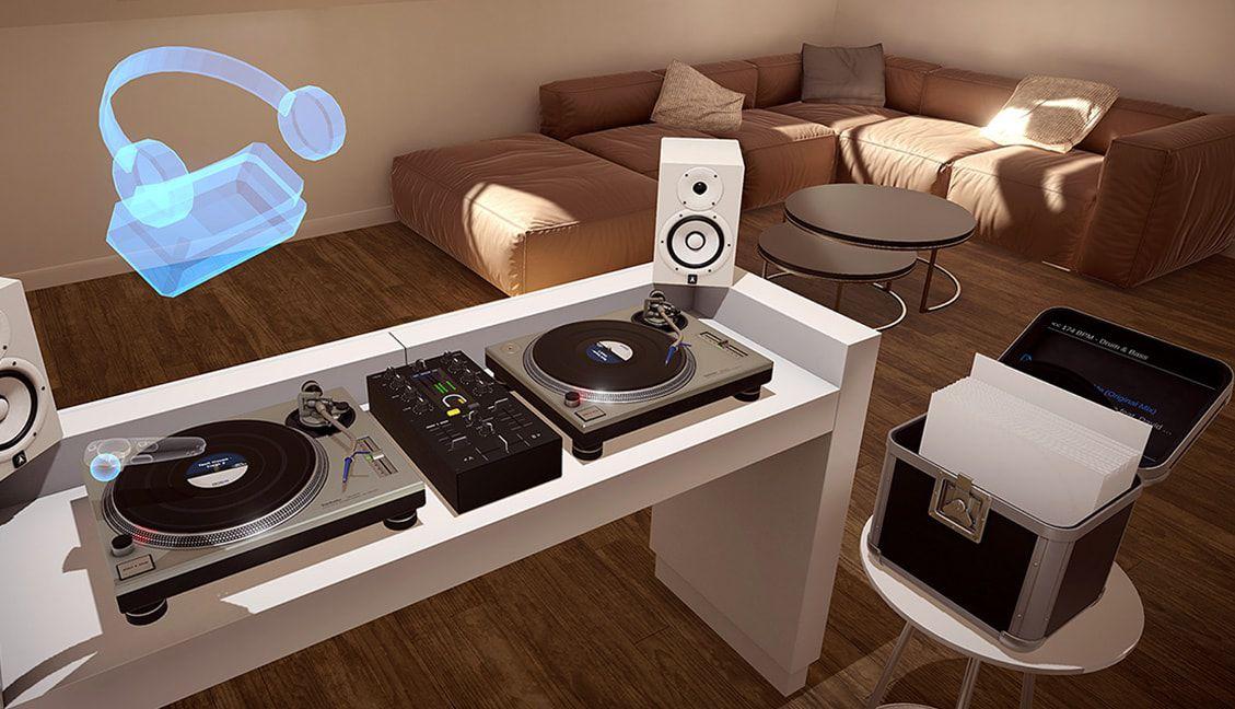 Vinyl Reality: Virtual Reality Gets A Realistic Vinyl DJing