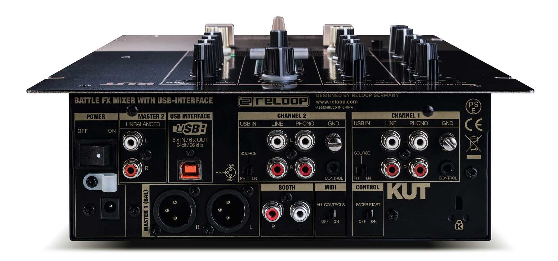 Reloop KUT rear