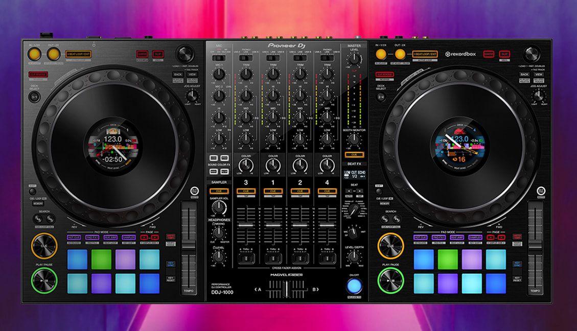 DDJ-1000 Rekordbox DJ controller by Pioneer DJ