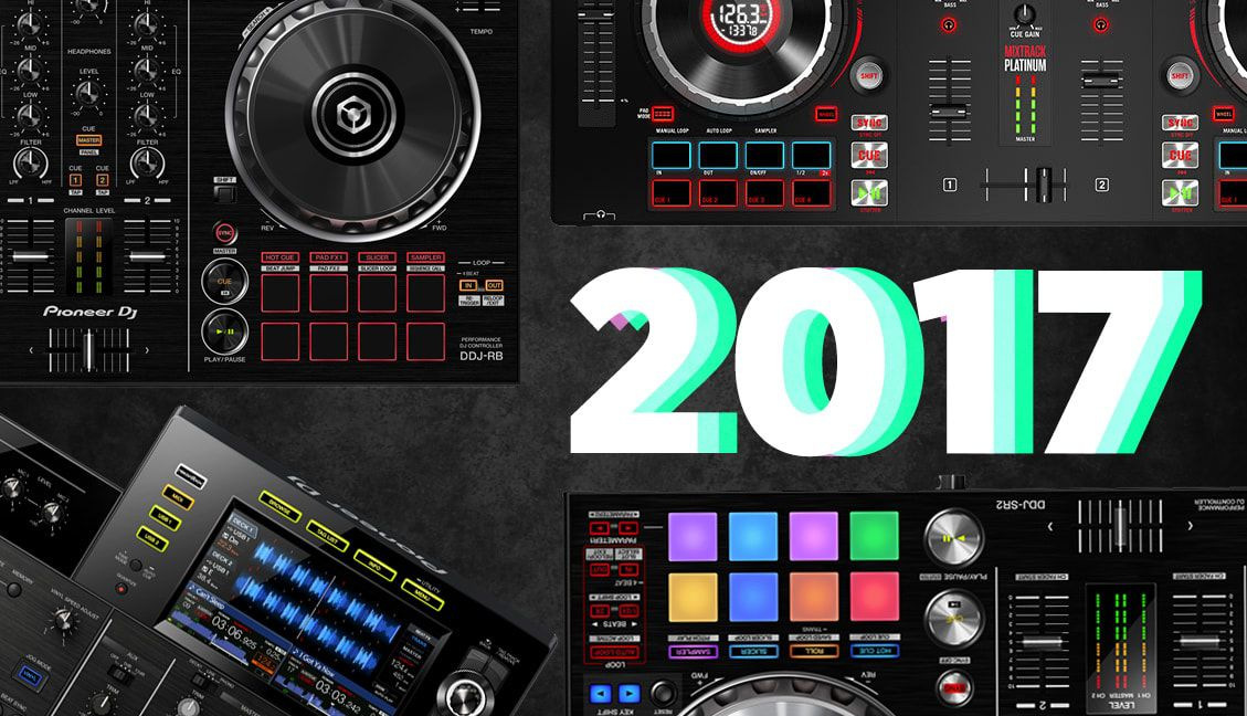 Top Selling DJ Controllers in 2017
