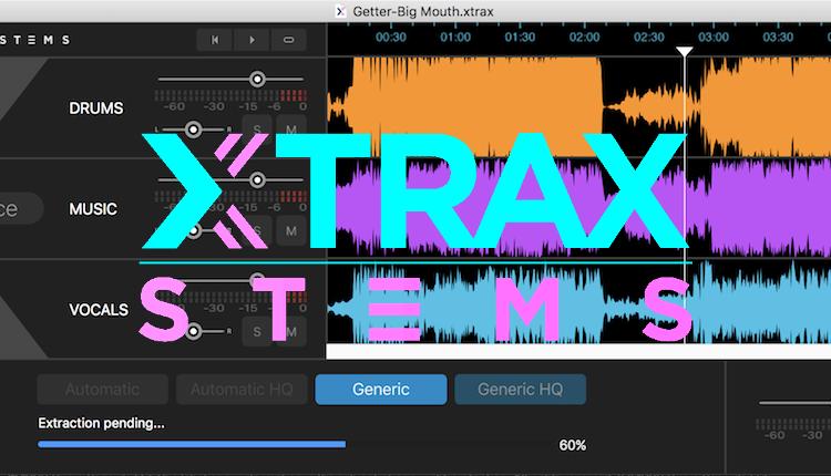Review: Audionamix's Xtrax Stems Separates Tracks into Stems