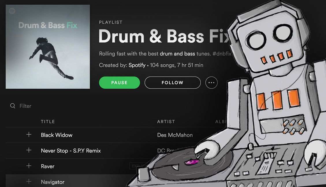 Spotify Now Auto-Mixing Tracks In Playlists, Gets Phrasing Right