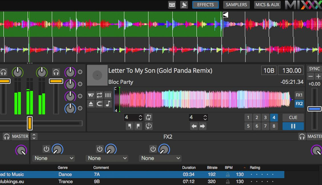 Mixxx 2.1 Free DJ Software update