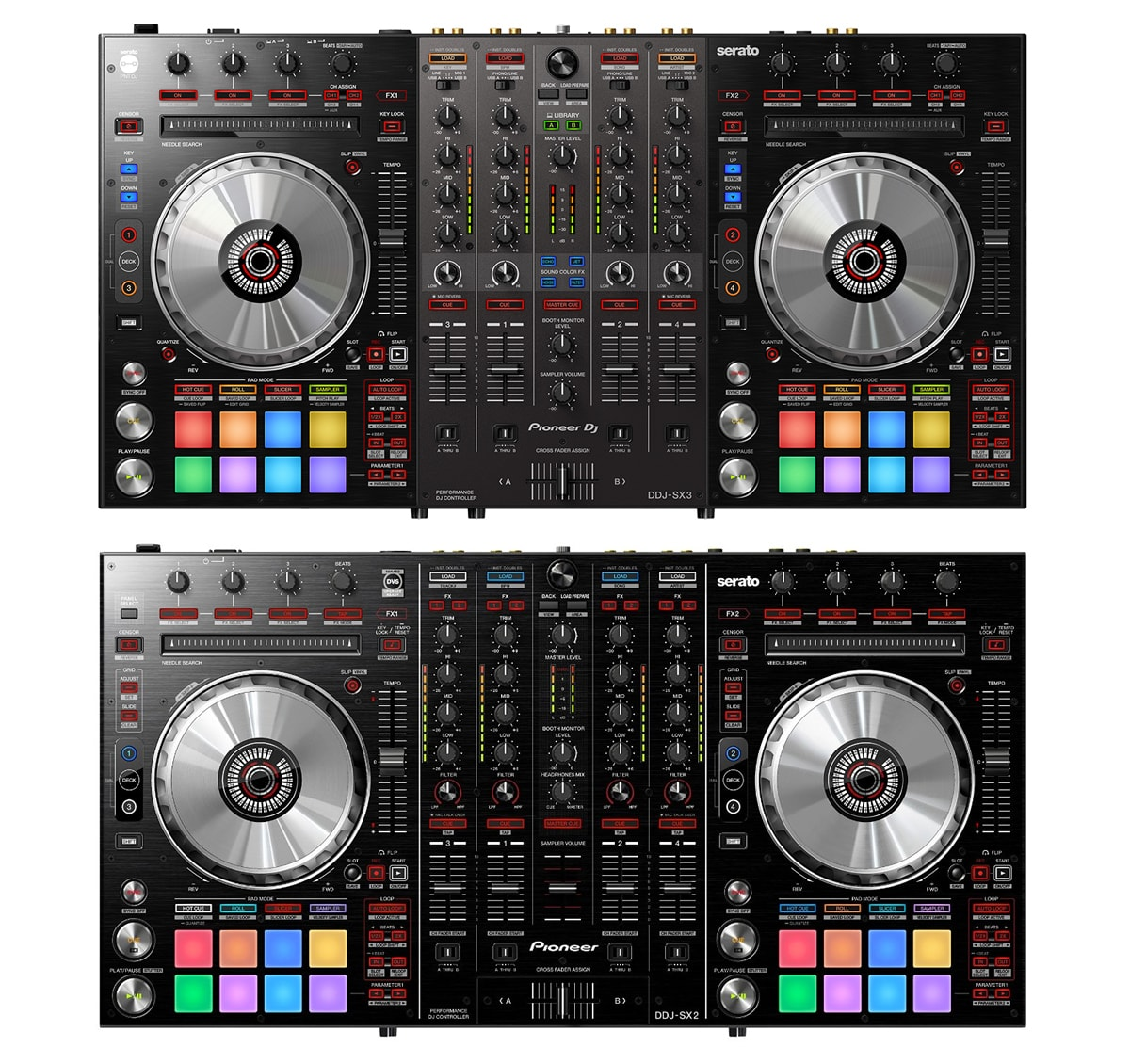 introducing the pioneer dj ddj sx3 dual usb ports mic fx dj techtools. Black Bedroom Furniture Sets. Home Design Ideas