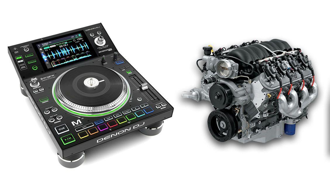 They Put Motors In It! Denon DJ Announces Motorized SC5000M