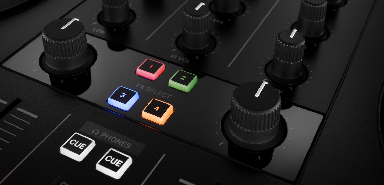 Kontrol S2 MK3's Mixer FX