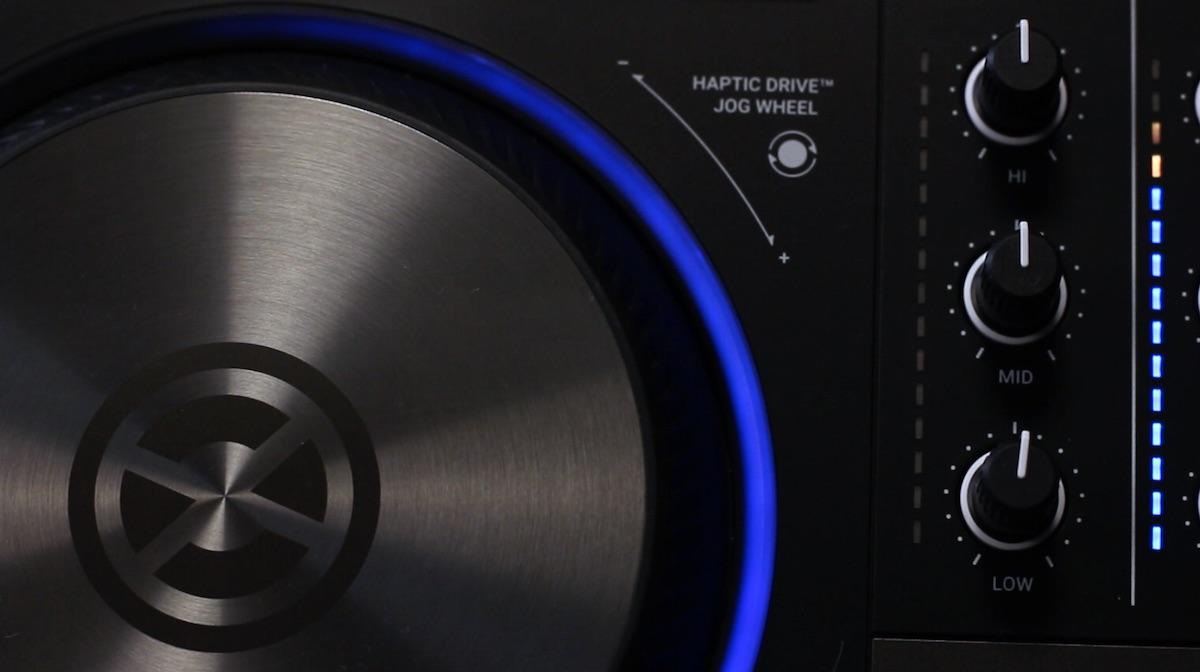 s4 haptic drive jog wheel