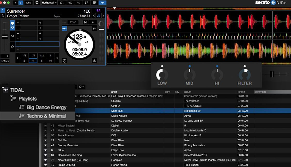 Serato DJ Pro 2 1 Beta: TIDAL Streaming, Serato Play