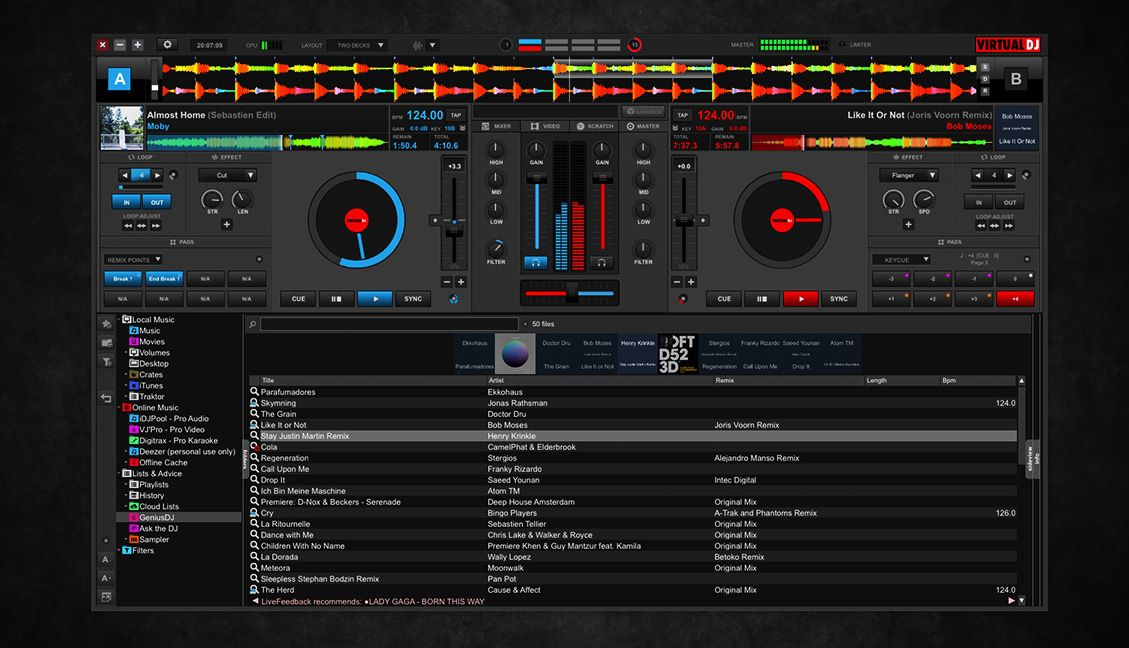 virtual dj spotify