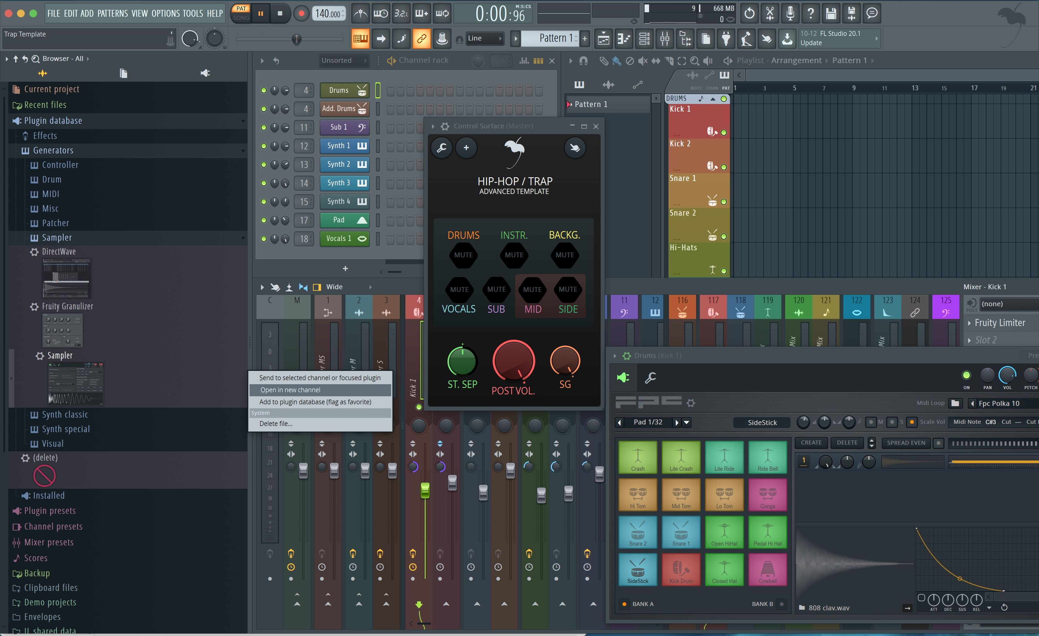 nexus 2 in fl studio os x mac