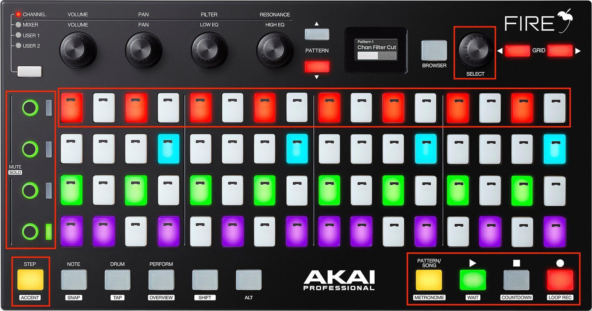 Review: Akai Fire Controller for Image Line FL Studio 20
