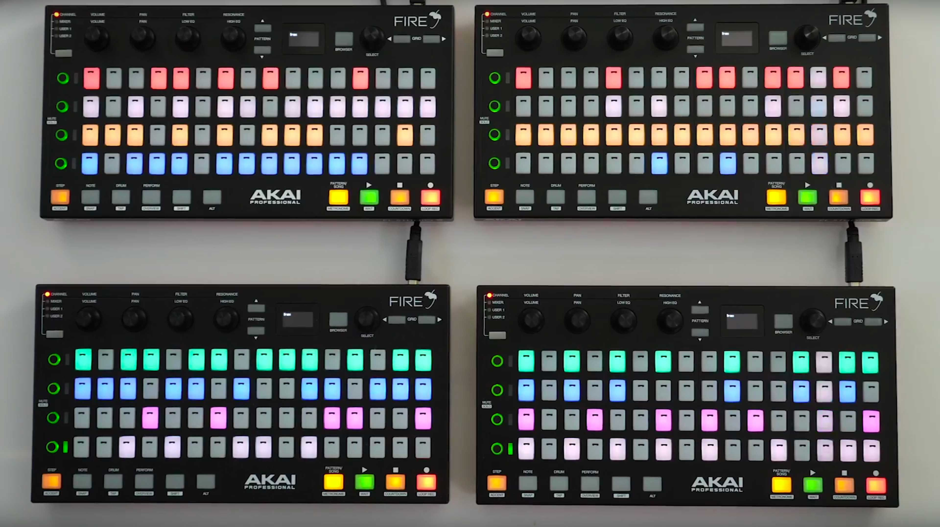 review akai fire controller for image line fl studio 20 dj techtools. Black Bedroom Furniture Sets. Home Design Ideas