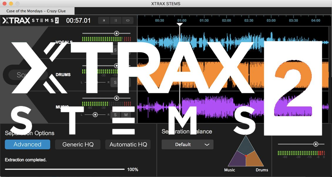 Review: Audionamix Xtrax Stems 2 - The Next Step in Track Separation
