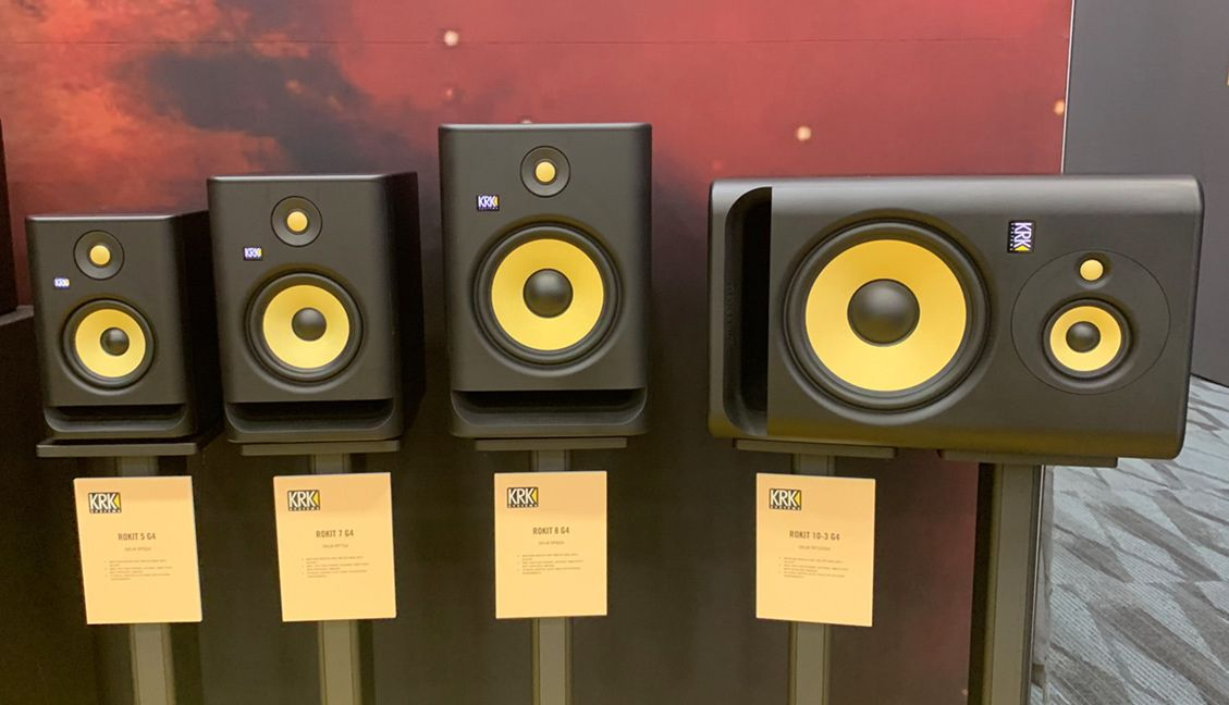 KRK Rokit G4 at NAMM 2019