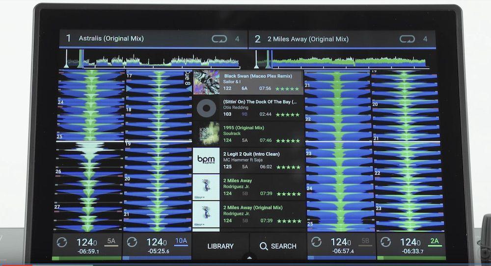 Denon DJ Prime 4 Screen