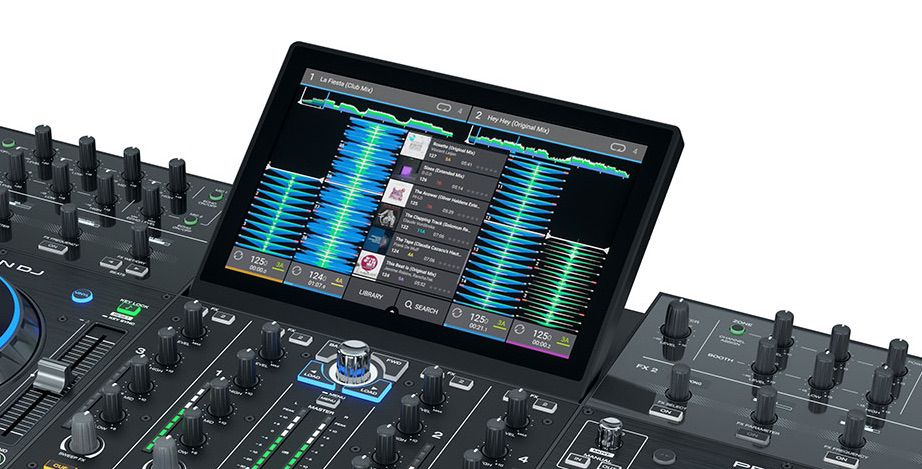 The screen on Denon DJ's Prime 4