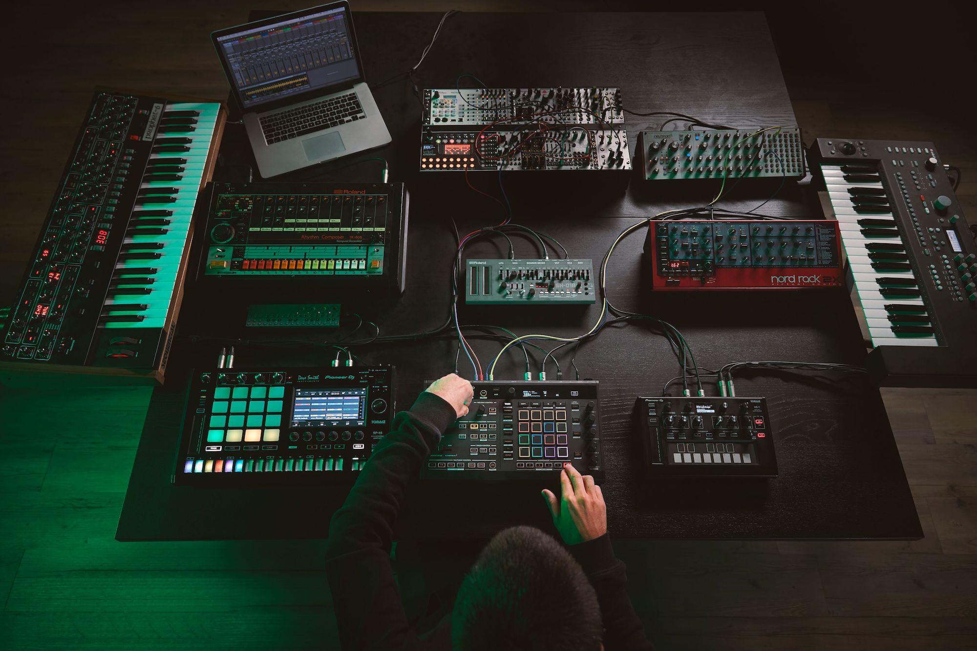 TORAIZ SQUID: Pioneer DJ Is Making A Multitrack Sequencer