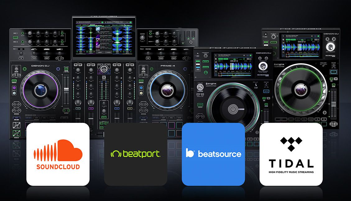 SC5000 + Prime 4 Are Getting Beatport, Beatsource, Soundcloud, And Tidal Streaming