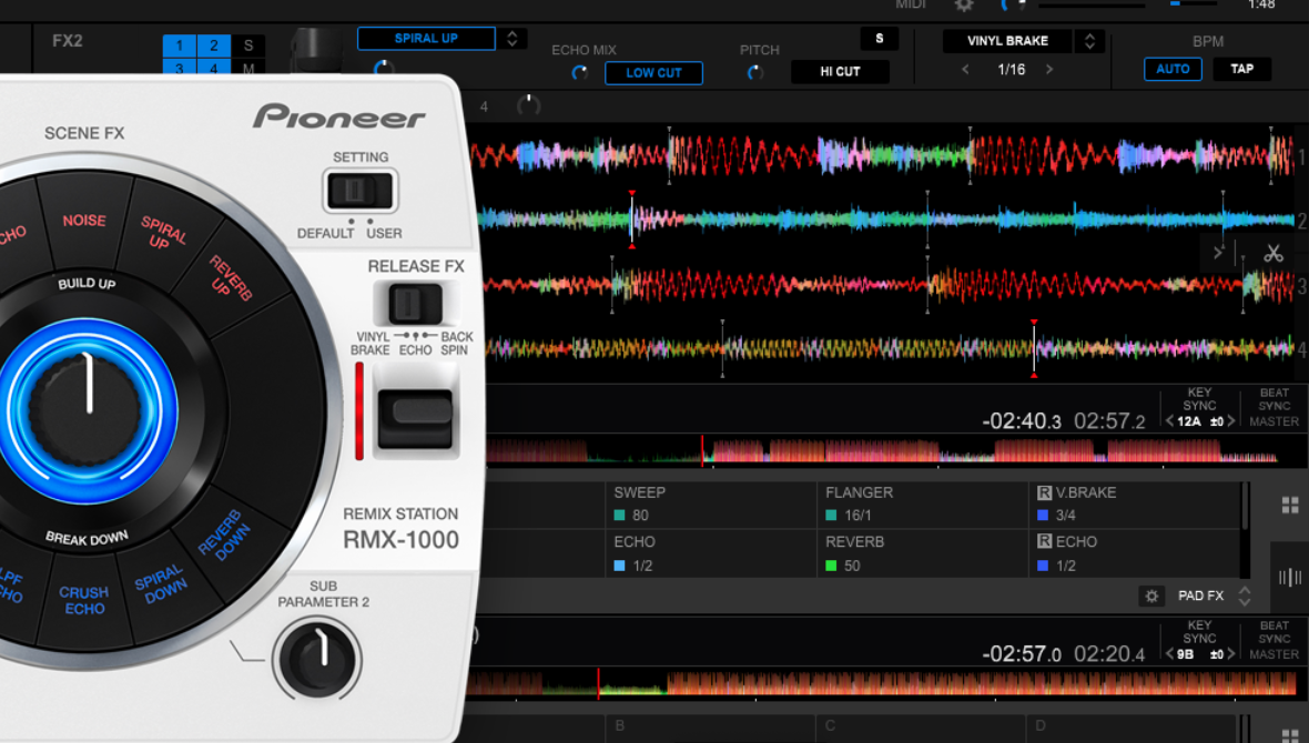 Hacking Rekordbox FX, and adding RMX-1000 control - DJ TechTools