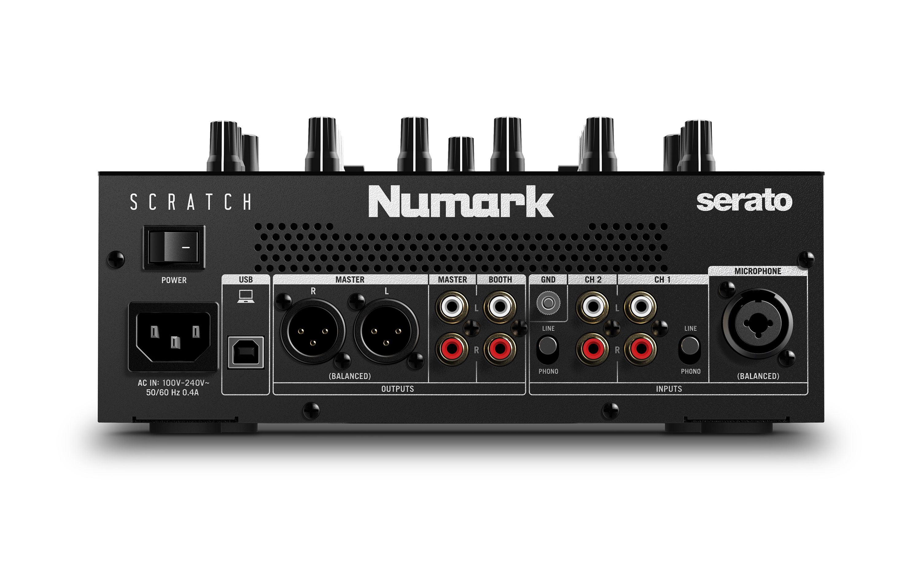 Numark Scratch: A $500 battle mixer with pads, FX paddles