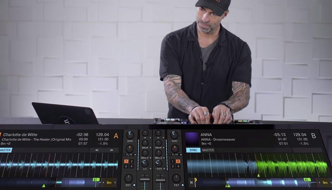 Chris Liebing demos Traktor Pro 3.2