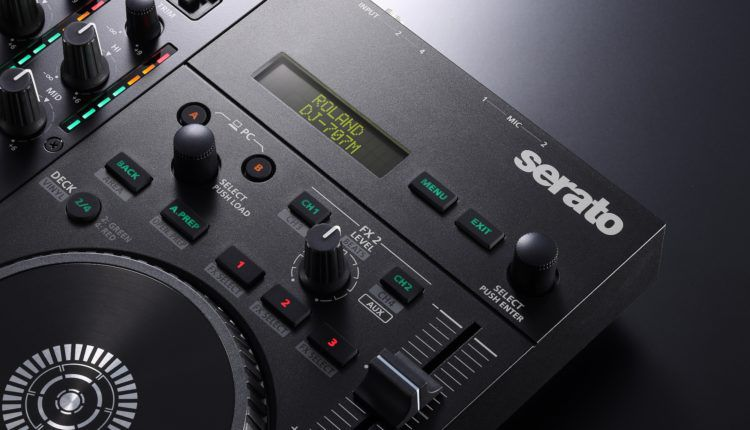 Roland Launches DJ-707M, A $999 Hybrid Controller and Live