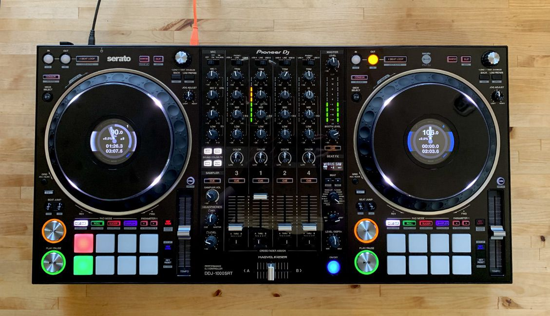 Announcing the DDJ-1000SRT controller