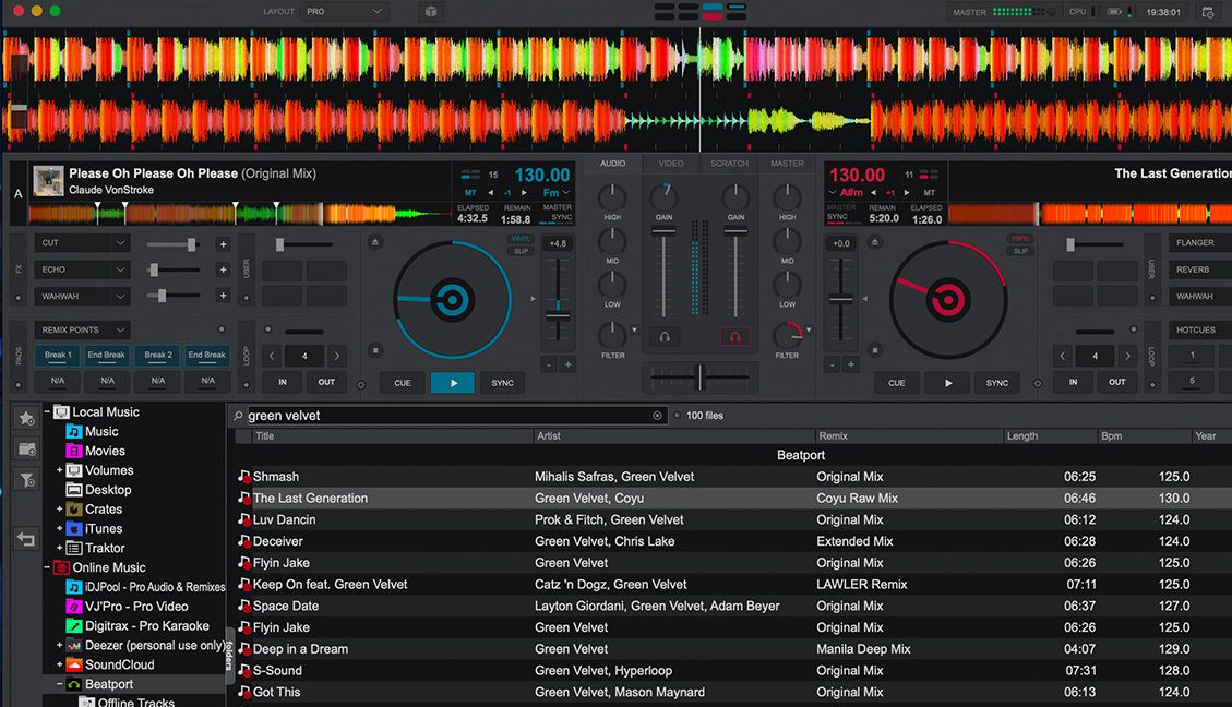 Virtual DJ 2020 Launches With New UI, Beatport Link, an