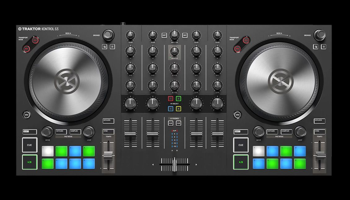 Traktor S3 - Photoshop mockup, not a real image