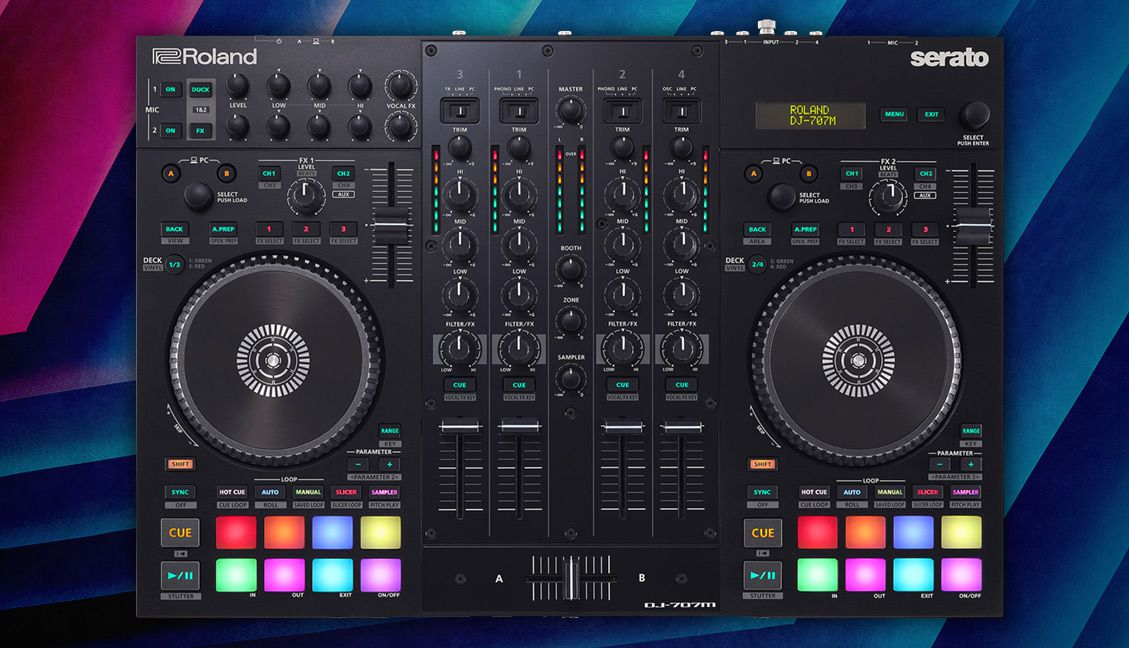 Roland DJ-707M Review