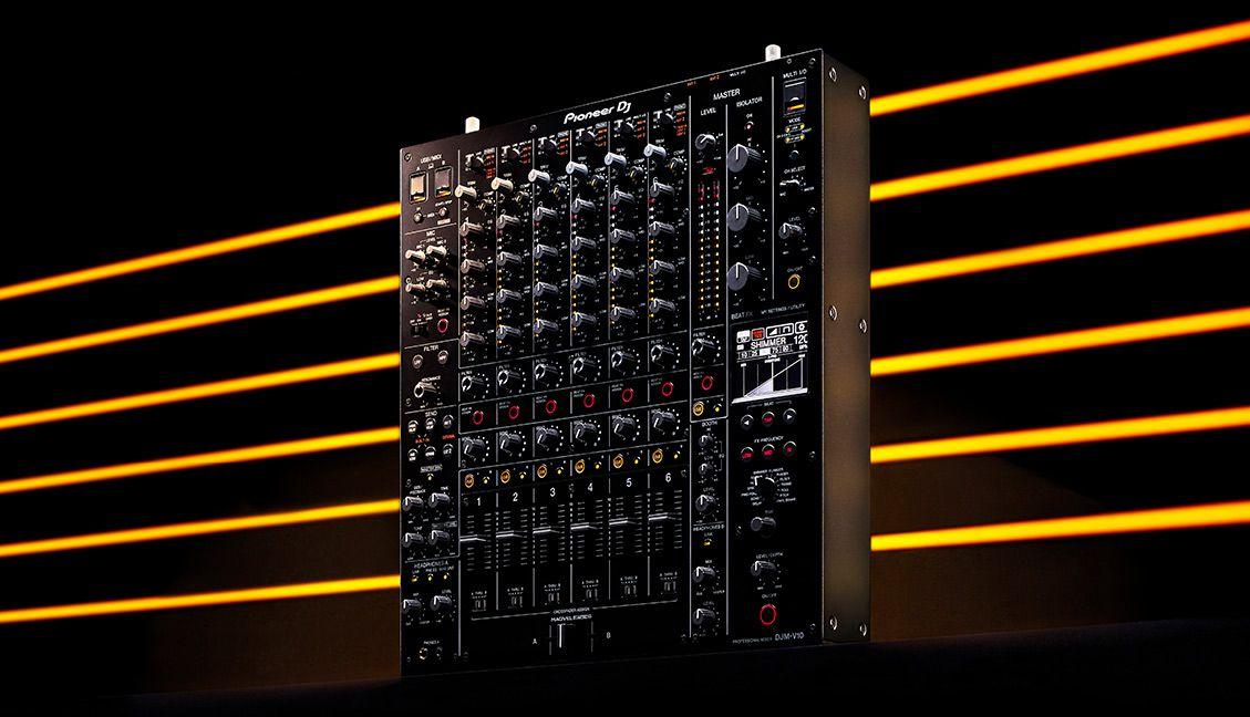 DJM-V10 mixer from Pioneer DJ