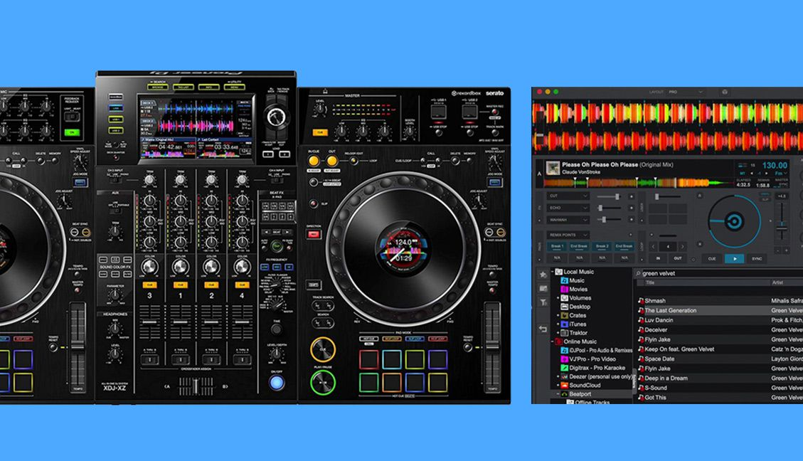 XDJ-XZ with Virtual DJ 2020